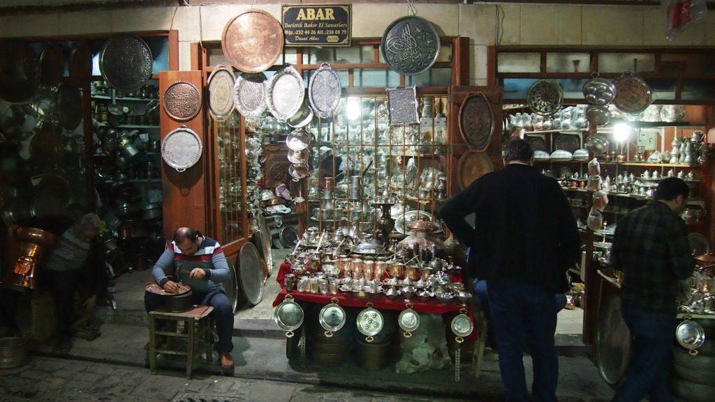 Gaziantep Tarihi Bakırcılar Çarşısı