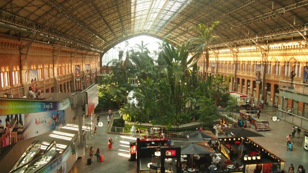Atocha Tren İstasyonu