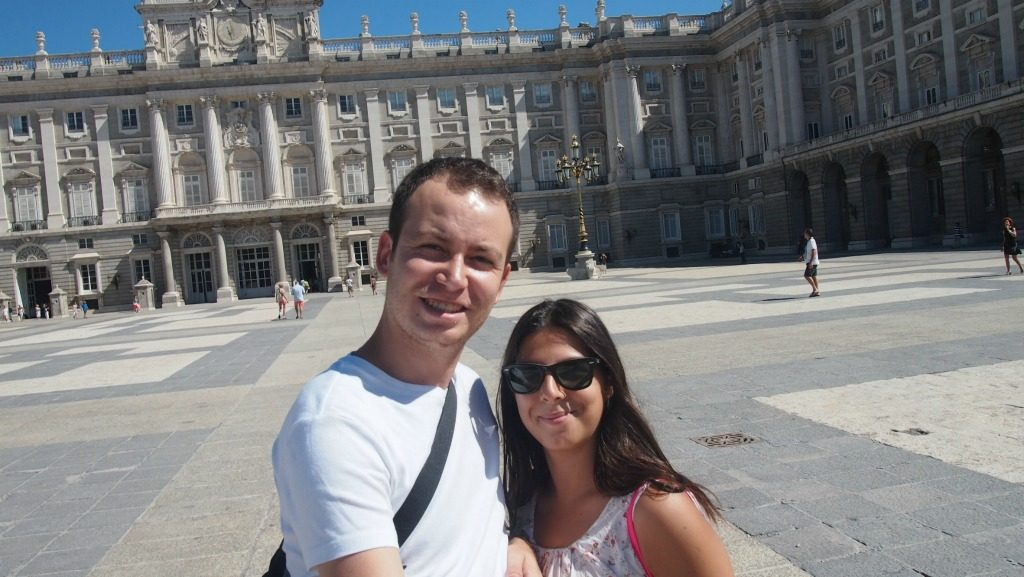 Palacio Real ve Biz :)