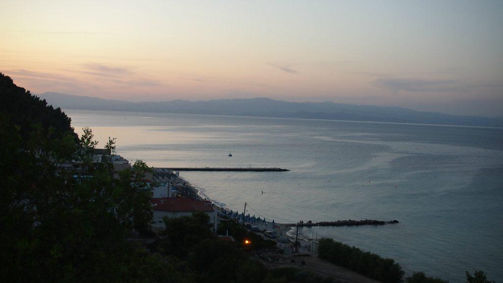 Kalithea deniz manzarası