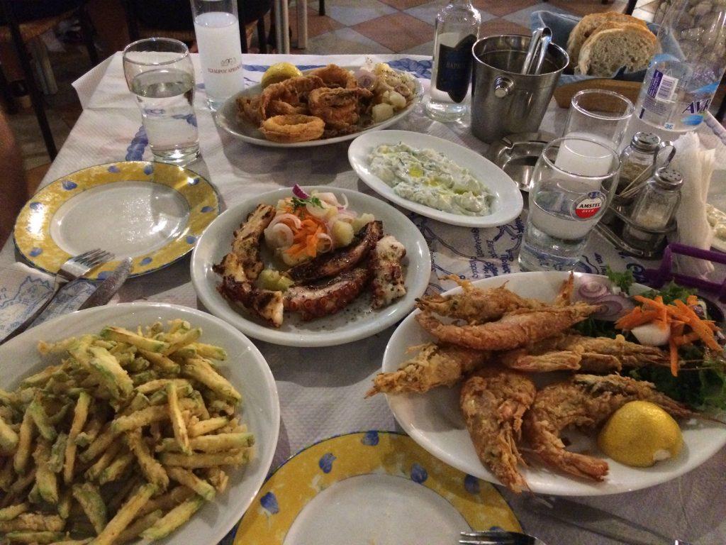 Kostis'in lezzetli yemekleri
