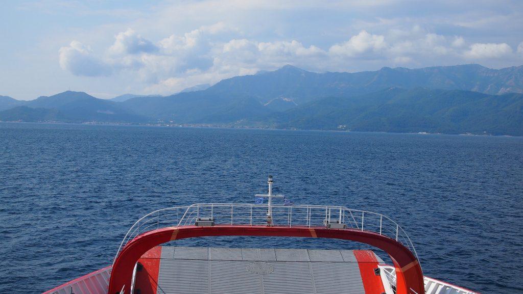 Thassos Adası göründü
