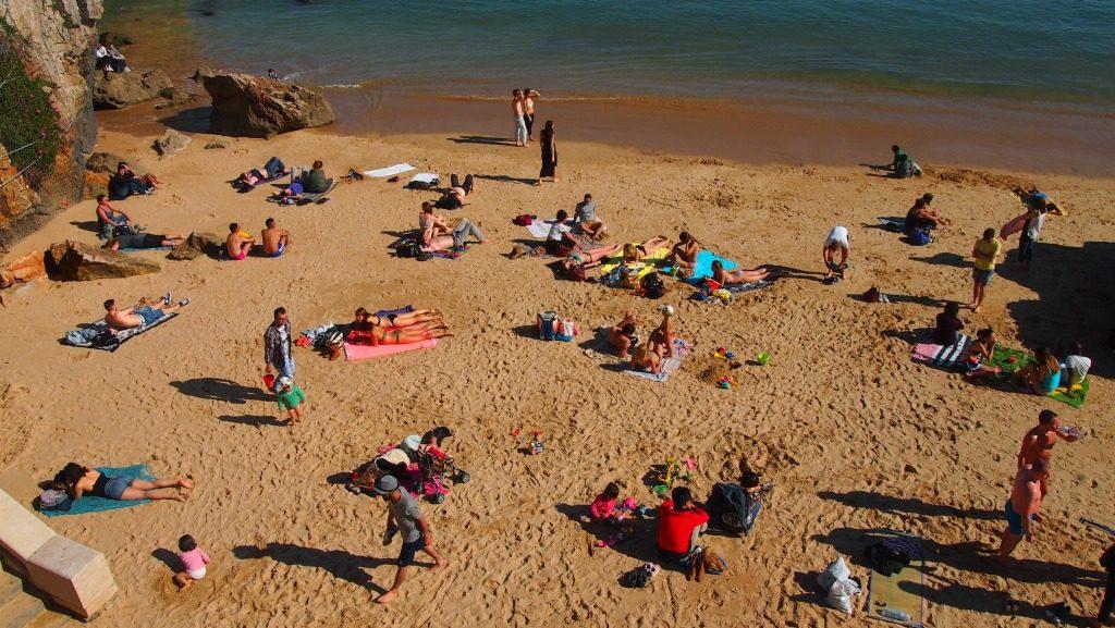 Cascais plajları