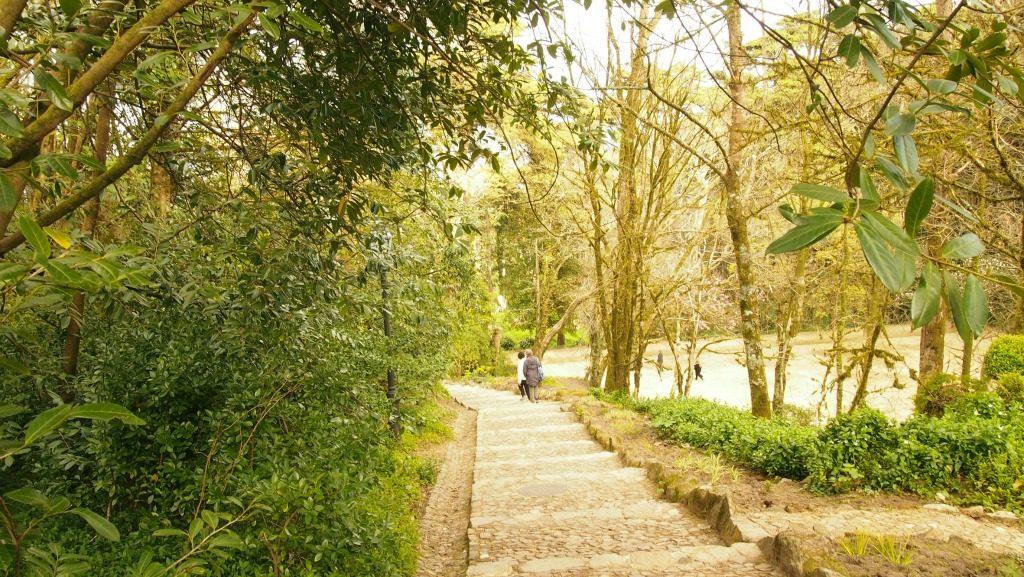 Pena Sarayı bahçesi
